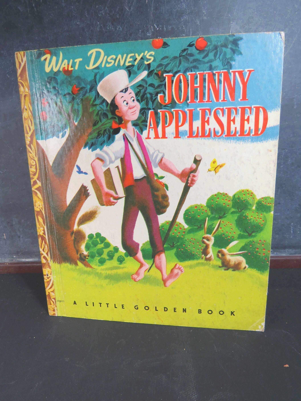 Johnny Appleseed Walt Disney S Golden Book Vintage