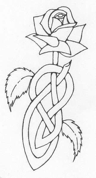 Celtic Rose Tattoos Golden Retriever Puppy Photos Celtic Art Celtic Designs Celtic Symbols