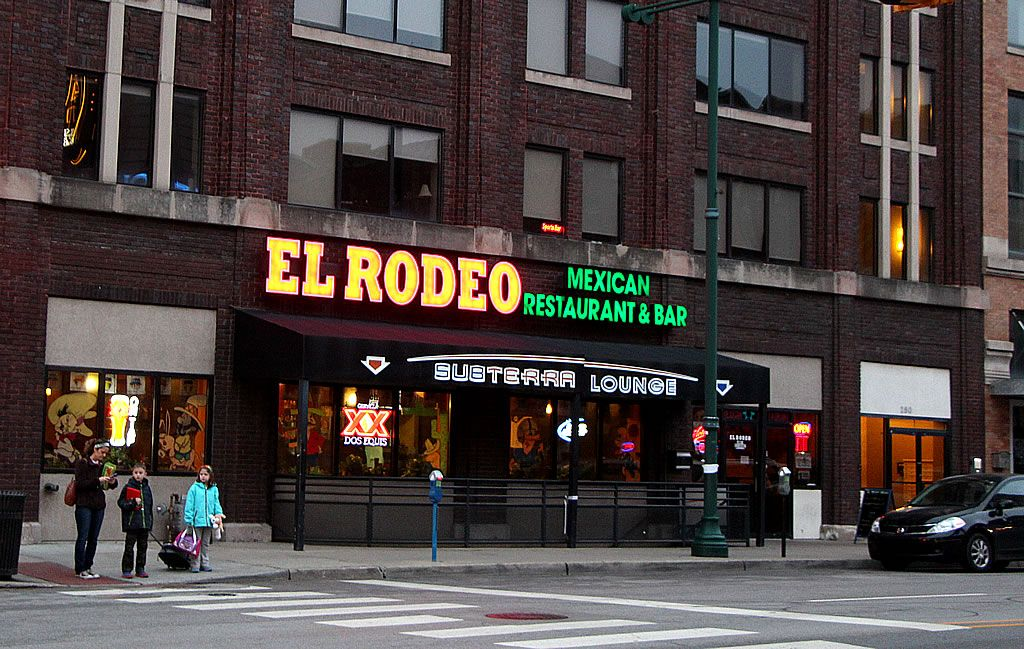 El Rodeo Mexican Restaurant 205 South Meridian Street In Downtown Indianapolis Indiana