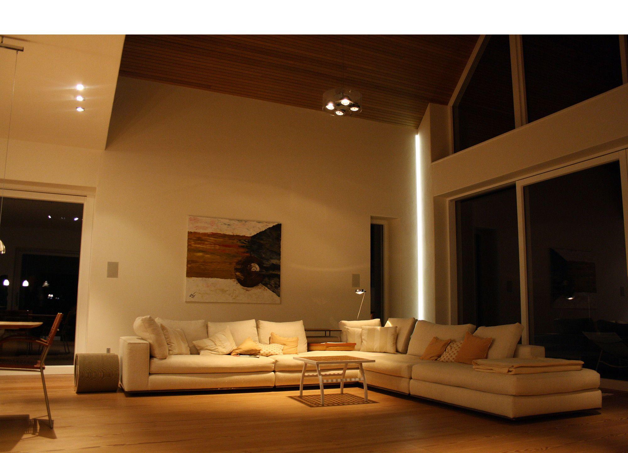 Licht K1 Lichtstudio Planung Realisierung Munchen Haar Projekte Privat Haus Wohnzimmer Projekte