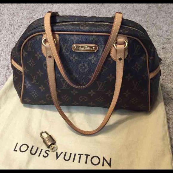 d1ab4f6a5bda Louis Vuitton Montorgueil pm Selling my 100% authentic Louis Vuitton  Montorgueil pm monogram bag.