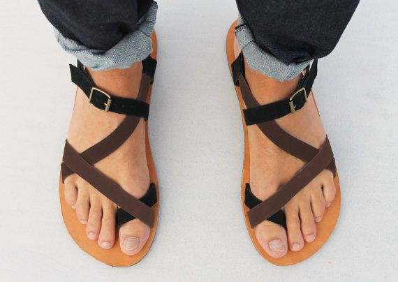865cfd14c39b Leather Sandals - Unisex Shoes - All Sizes - Any Colors.  50.00