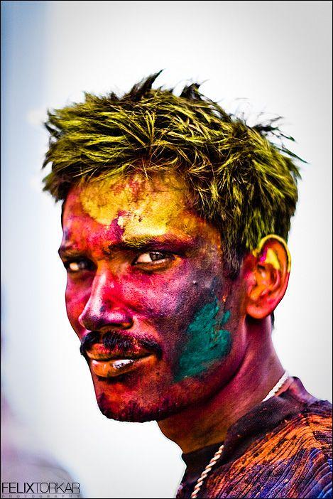 Holi: Holi (Hindi: होली) is a religious spring festival