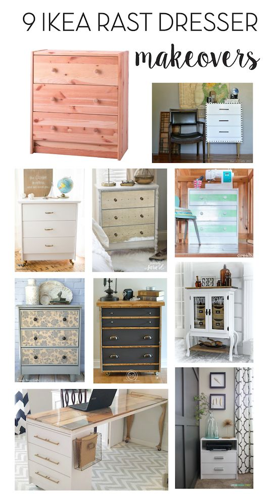 9 ikea rast dresser hacks painted furniture pinterest m bel diy m bel and moebel streichen. Black Bedroom Furniture Sets. Home Design Ideas