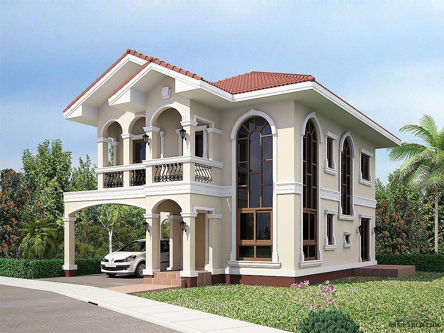 فيلا صغيرة ذات تصاميم رائعه و جديدة 1 بالمخطط 12 18 متر Philippines House Design Sale House Philippine Houses