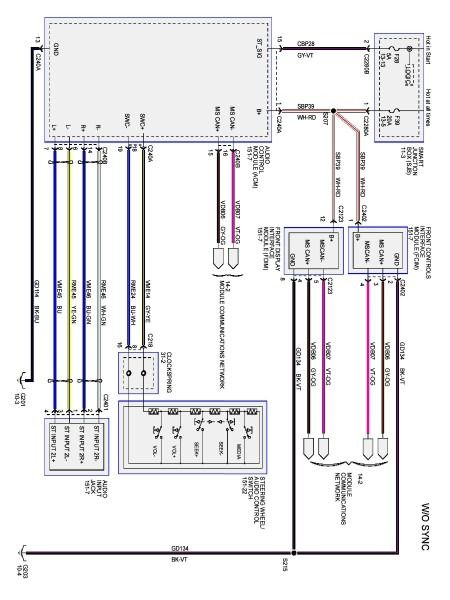 2003 Ford Expedition Wiring Diagram For Radio