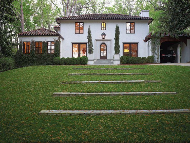 Tk Residence Facade Buckhead Atlanta Mediterranean Stucco Cities