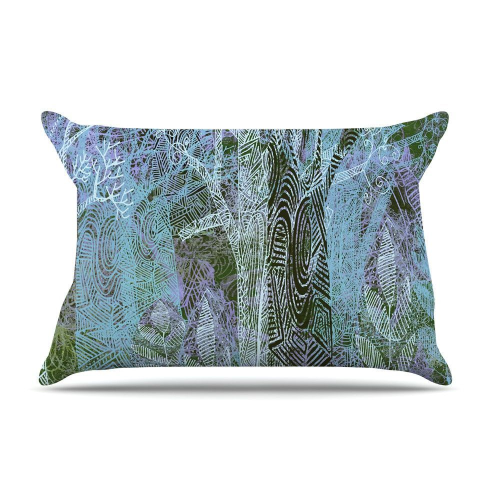 Wild Forest by Marianna Tankelevich Trees Cotton Pillow Sham