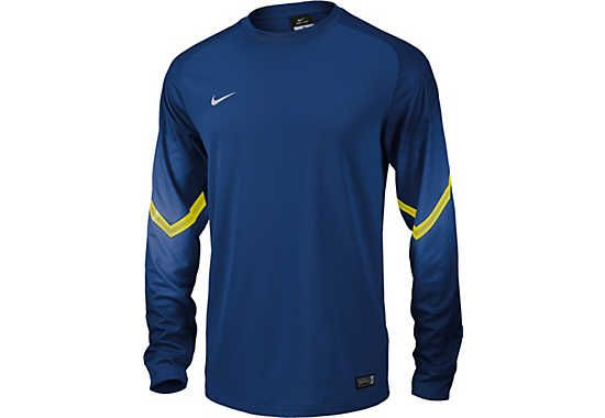 Nike Goleiro Goalkeeper Jersey - Royal and Volt