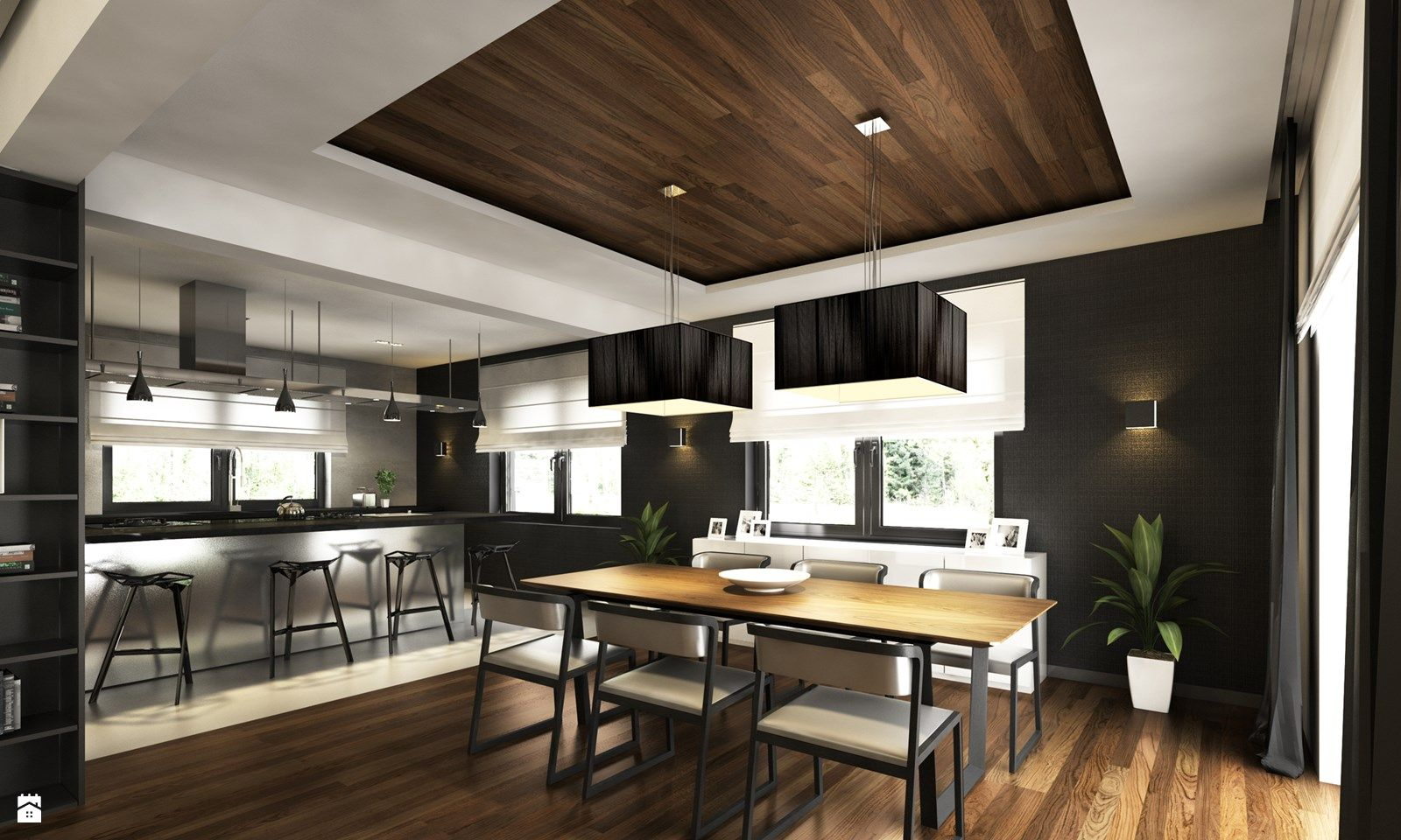 Zdjecie Jadalnia Styl Nowoczesny Home Decor Home Interior