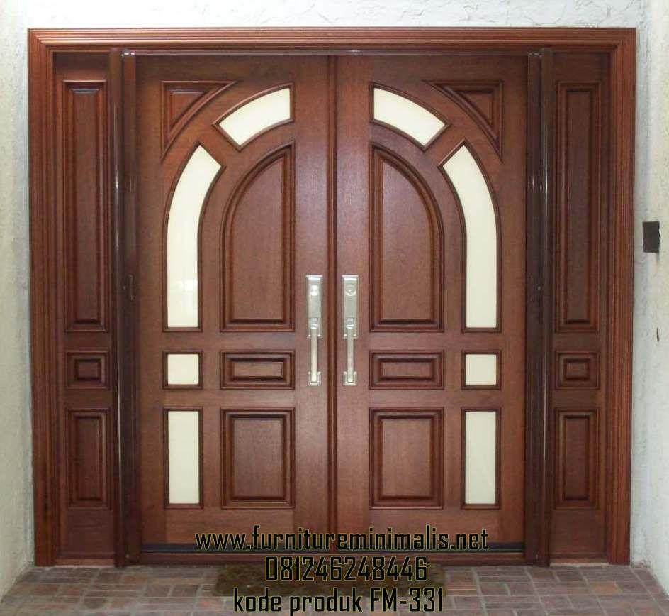 Desain Exterior Pintu Rumah Mewah Minimalis Modern Murah