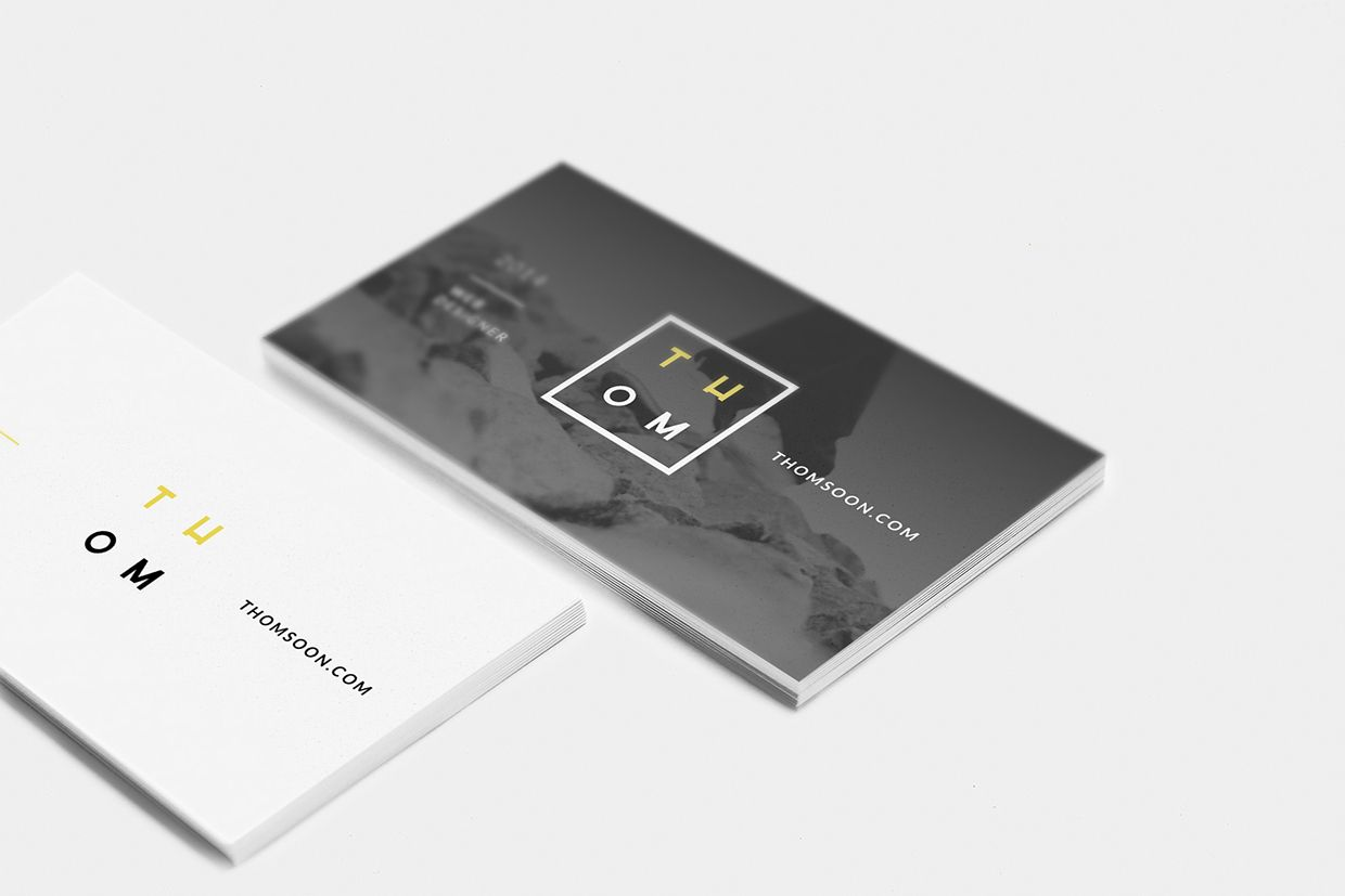 7+ clean free business card - Mockup download - Thomsoon.com ...
