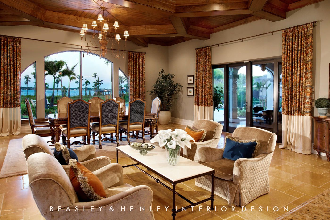Artistic, award-winning interior design and interior detailing firm Beasley  & Henley is highly
