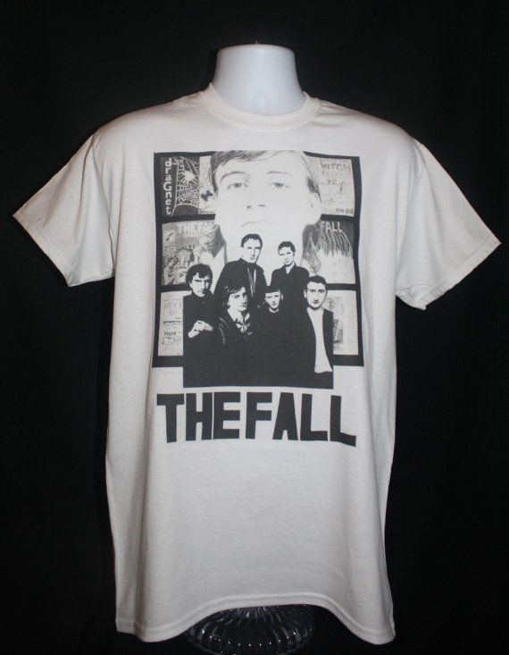 Brand New The Fall Band T Shirt Mark E Smith 80s By