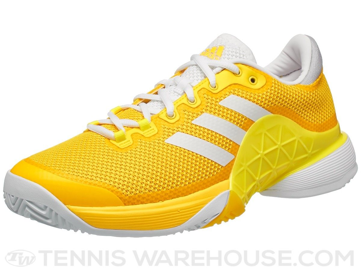 59d5aba8545e5 adidas Barricade 17 Yellow White Grey Men s Shoe