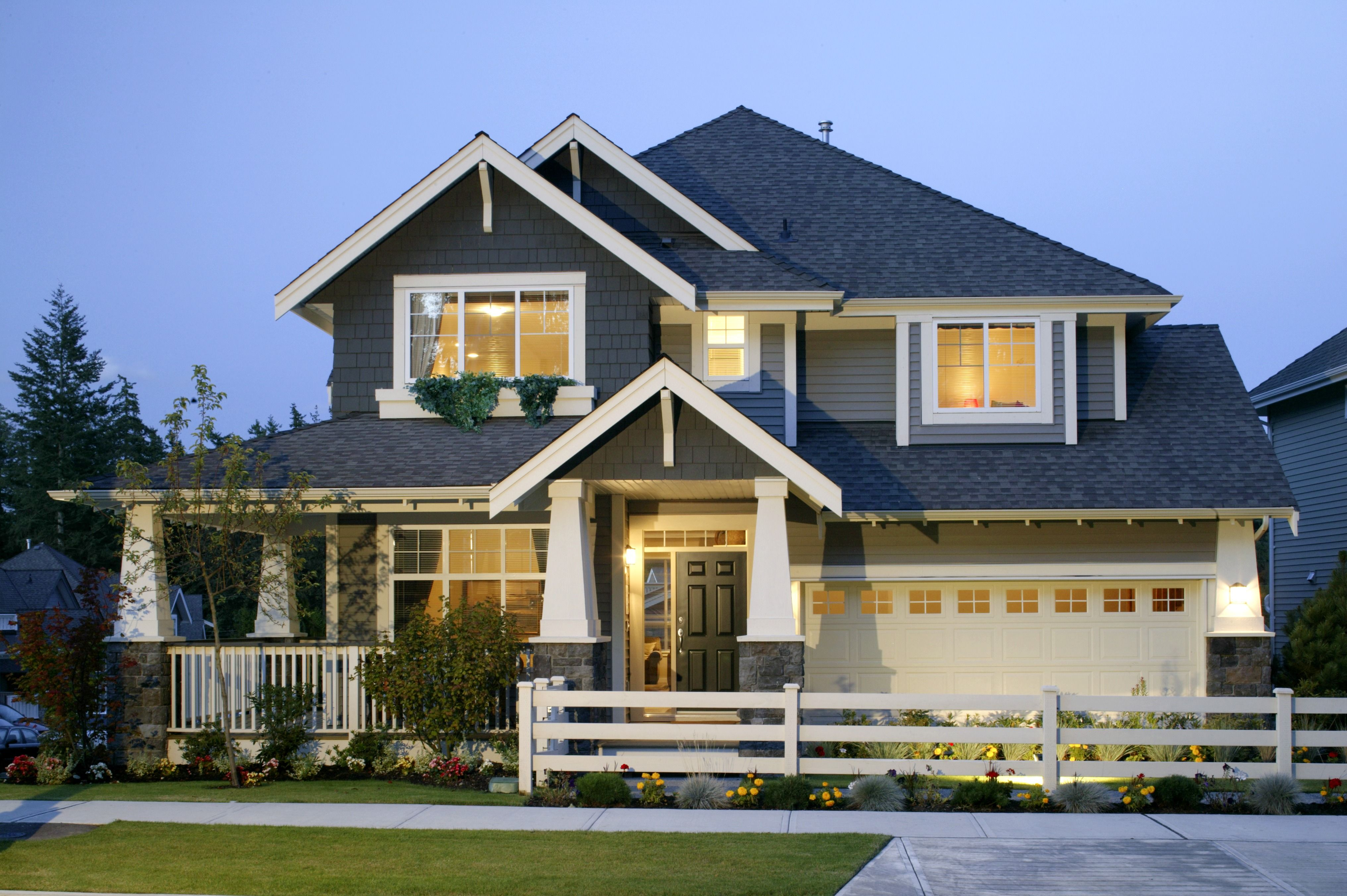 Diy tips for how to power wash siding front view of
