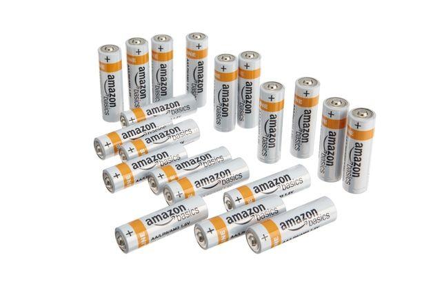 Amazon Com Amazonbasics 8 Count Aa High Performance Alkaline Batteries 10 Year Shelf Life Easy To Open Value Pack Healt Alkaline Battery Alkaline Batteries