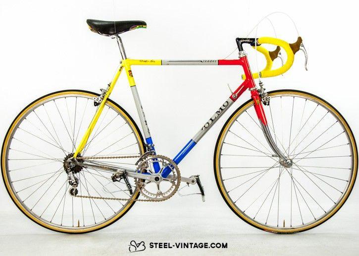 Steel Vintage Bikes - Olmo Leader Classic Bicycle 1980s | Velo-ART ...