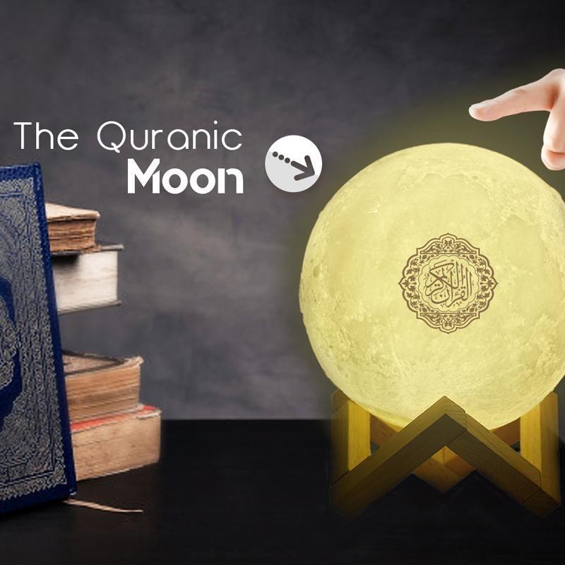 Moon Lamp Quran Speaker Smart Gadget Touch Lamp Iphone Accessories