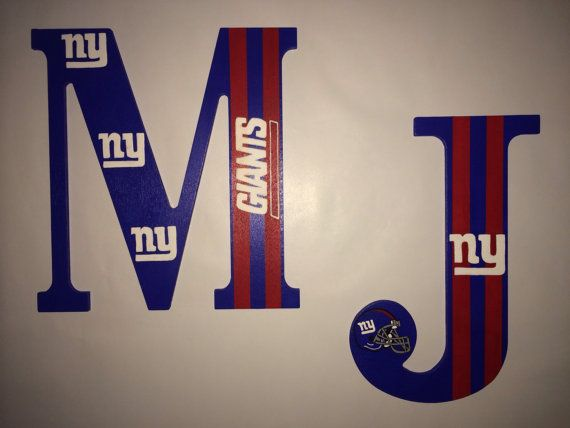 10 Ny Giants Dallas Cowboys Hand Painted By Tracilettercreations Ny Giants Giants Bedroom Giants Decor