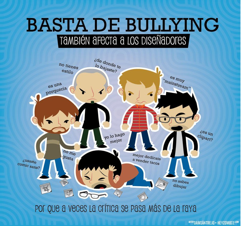 Basta De Bullying Basta De Bullying Disenos De Unas Comic Sans