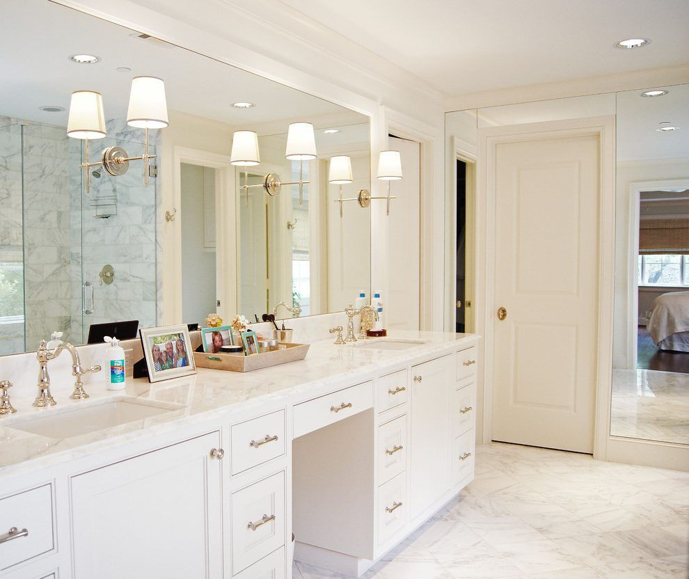 Bianco Rhino Marble Traditional His And Her Sinks With Wooden Bathroom Vanities Tops Wooden Bathroom Vanity Bathroom Vanity Tops Bathroom Vanity