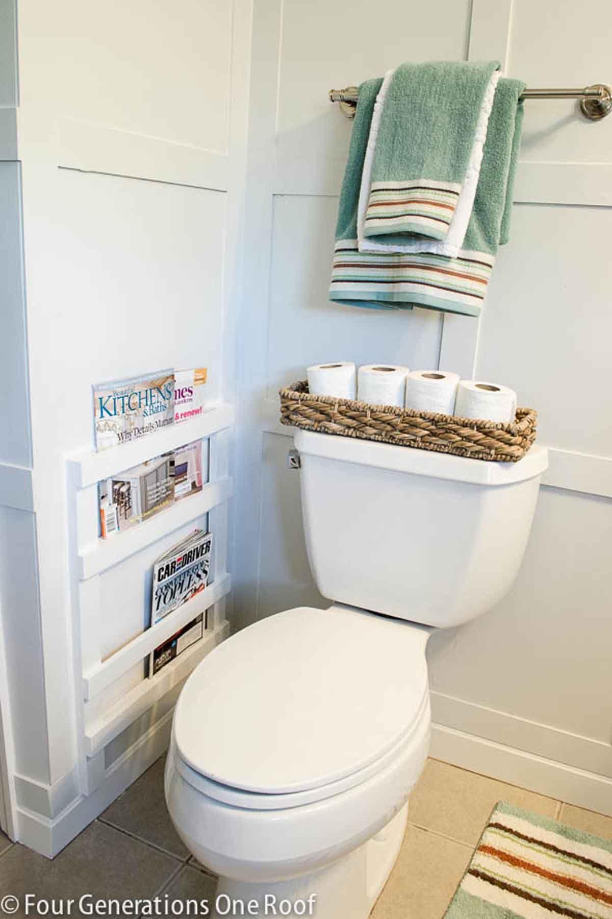 These Bathroom Organization Ideas Will Make Your Mornings So Much Easier Bathroom Organization Diy Diy Bathroom Rustic Bathroom Fixtures