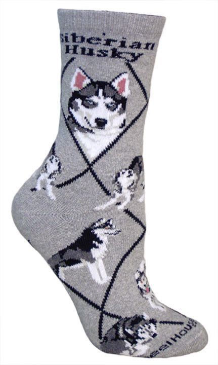 Boxer Dog Socks on Black 9-12 made in the USA