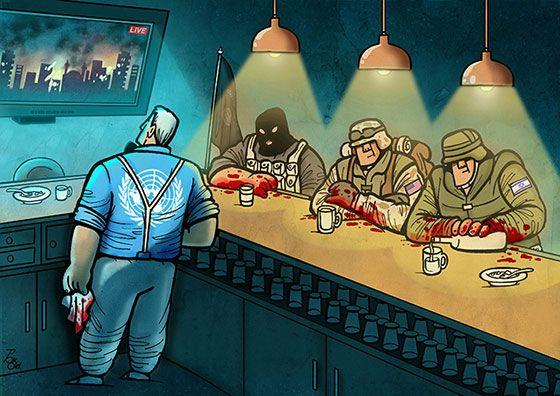 Irancartoon | The Winners Of The 1st International Cartoon