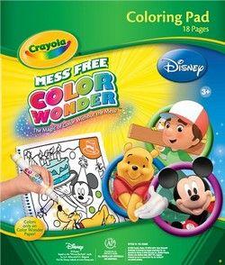 Disney Color Wonder Coloring Pad