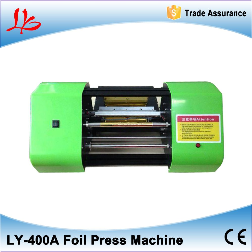 Free Shipping Ly 400a Digital Hot Foil Stamping Printer Machine Best Sales Color Business Card Printi Printing Business Cards Foil Stamping Hot Foil Stamping