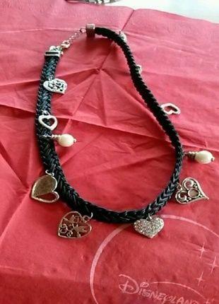 Kaufe meinen Artikel bei #Kleiderkreisel http://www.kleiderkreisel.de/accessoires/ketten-and-anhanger/111220506-kette-mit-diversen-herz-anhangern