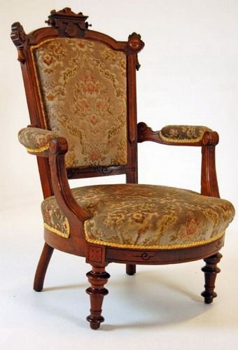 Walnut Armchair Antique Victorian Style Gallery Take A Seat