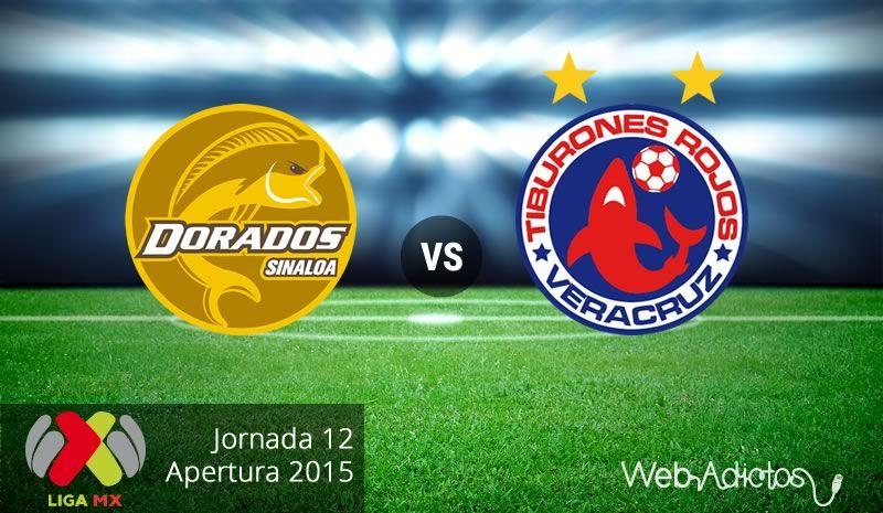 Dorados vs Veracruz, partido pendiente del A2015 ¡En vivo