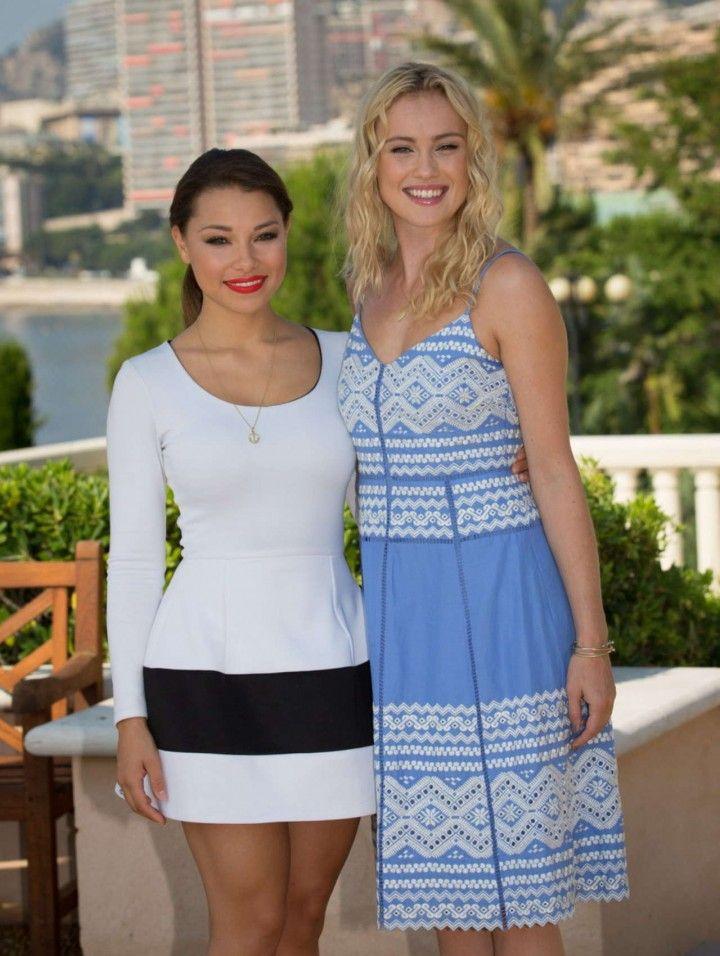 Hannah New Black Sails Photocall At The 54th Monte Carlo Tv