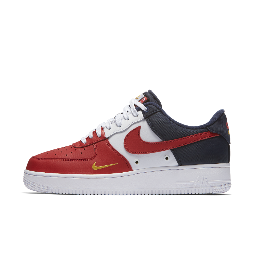 competitive price fbc1b 847f3 Nike Air Force 1 07 LV8 Men s Shoe Size 11.5 (Red)