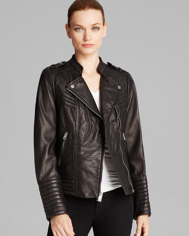 Michael Michael Kors Jacket Asymmetric Moto Leather Bloomingdale S Leather Jacket Womens Moto Jacket Michael Kors Jackets [ 1500 x 1200 Pixel ]