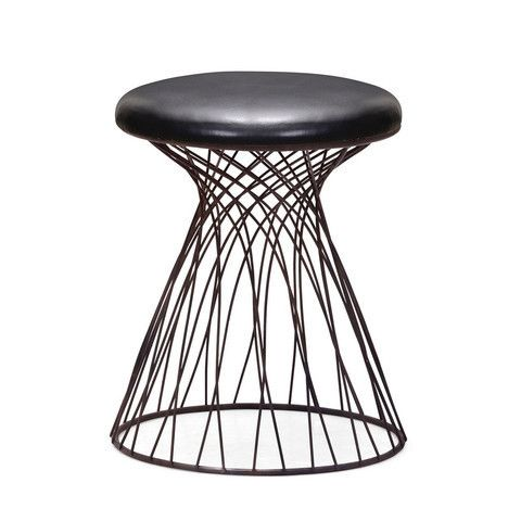 Zuo Modern 155059 Spike Stool Rustic Black --- $118
