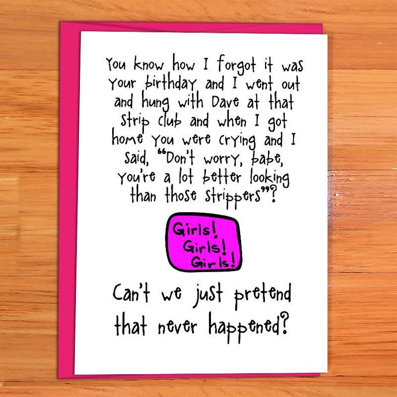 Funny Birthday Card For Friend Better Than A Stripper Funny