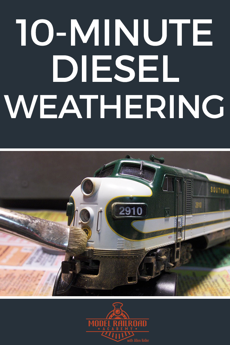 10-Minute Diesel Weathering   Weathering   Train, Model