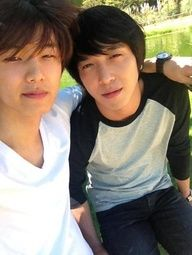 Min Hyuk and Yong Hwa