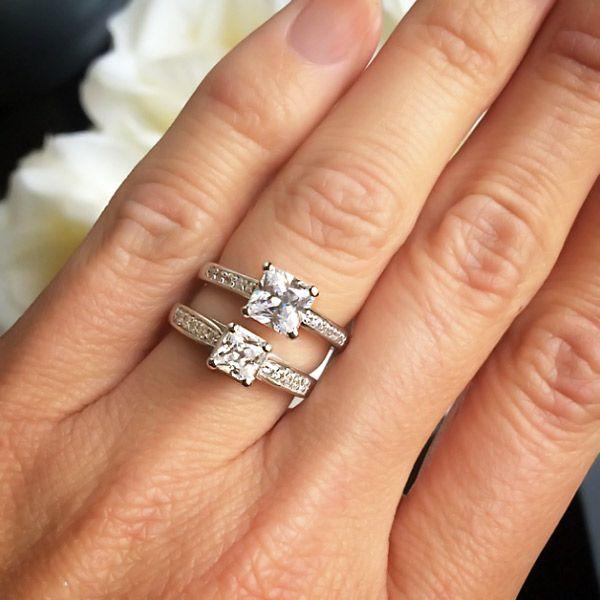 Modern anniversary gifts diamond pendant miadonna