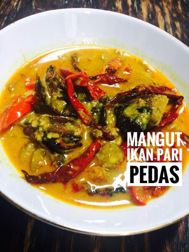 Sayur Pedas Mangut Ikan Pari Made By Kenekitchen