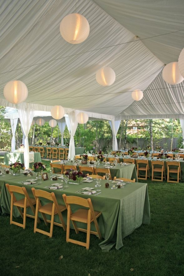 Tents 101: Your Guide to Renting a Tent for a Wedding or ...