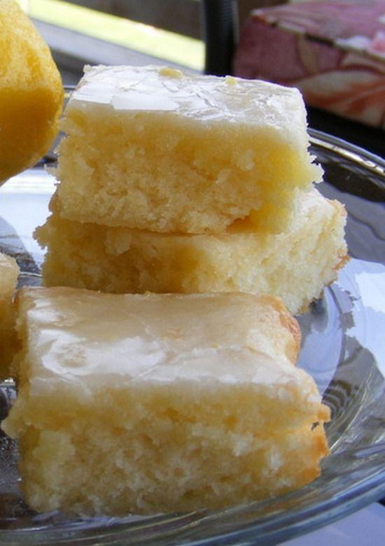 Lemon Brownies Recipe Lemon Recipes Desserts Lemon Brownies