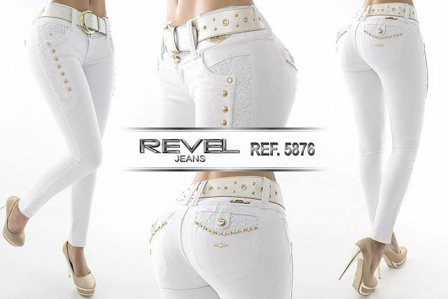 Nueva Coleccion De Pantalones Jeans Colombiano Levanta Cola Moda Jeans Denim Fashion Designer Jeans