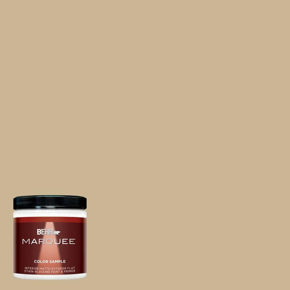 BEHR MARQUEE 8 oz. #MQ2-30 Spring Wheat Interior/Exterior Paint Sample