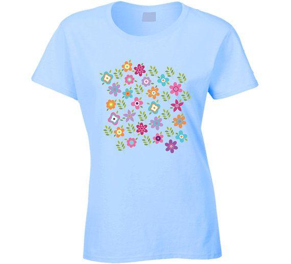 T-shirt Ladies Shirt 100% Cotton Womens shirt by ArtBeautifulCloth