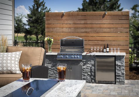 What Are Unfinished Bbq Island Cabinets Bbqguys Outdoor Fireplace Kits Outdoor Kitchen Island Luxury Outdoor Kitchen