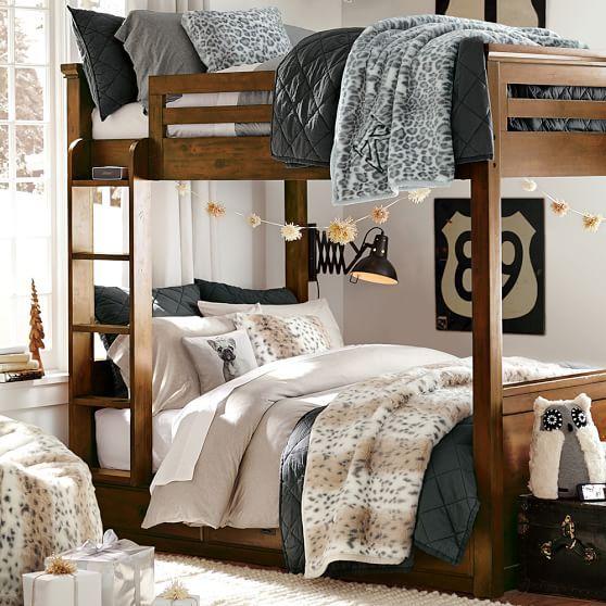 Oxford Bunk Bed PBteen berkshire bunk room Pinterest Bunk